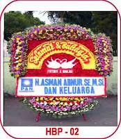 bunga papan wedding atau bahagia