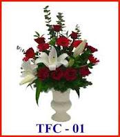 bunga untuk hadiah tahun baru