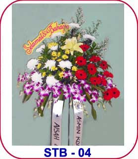 bunga ucapan selamat dan sukses