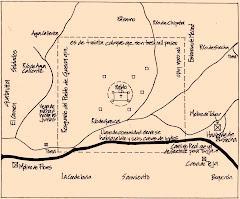 Transcripción del mapa de Guasca de 1758
