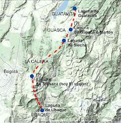 Lagunas Sagradas Muiscas - Guatavita, Guasca, Siecha, Teusacá y Ubaque