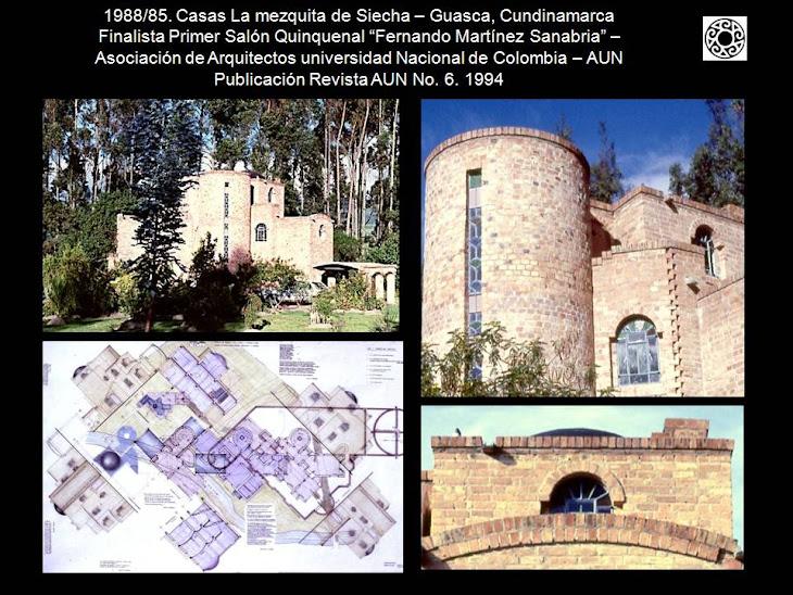 Arquitecto roberto santos c arquitectura arm nica - La casa de la mezquita ...
