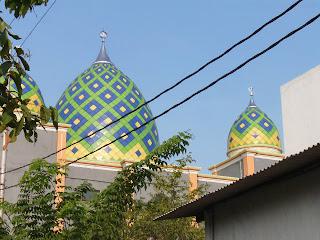 kubah, kubah masjid, kontraktor kubah, kubah enamel, zincalume