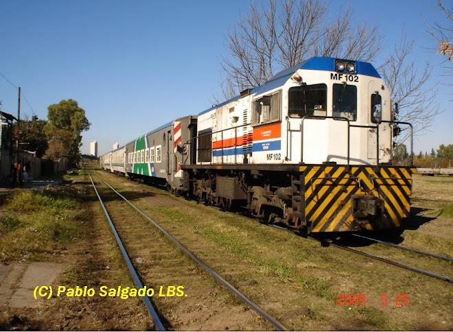 MF 102 LLEGANDO A EST. TAPIALES