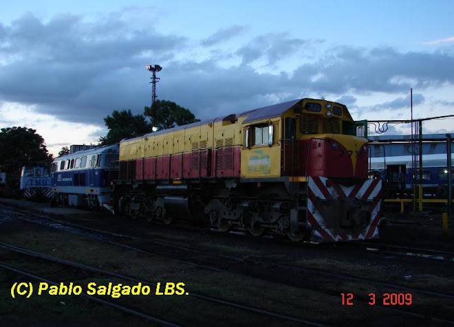 LLEGADA DE LA 7775 A TAPIALES LBS
