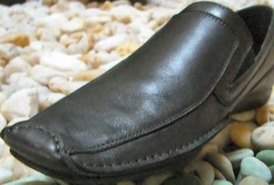 Sepatu Buaya bukan dari kulit buaya