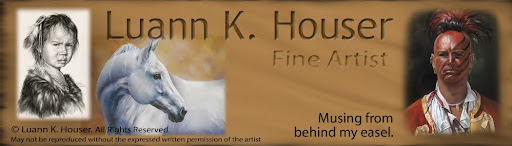 Luann Houser Musings From Behind My Easel