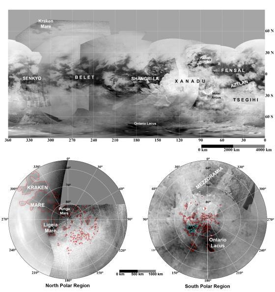 Mapa de Titán (NASA)