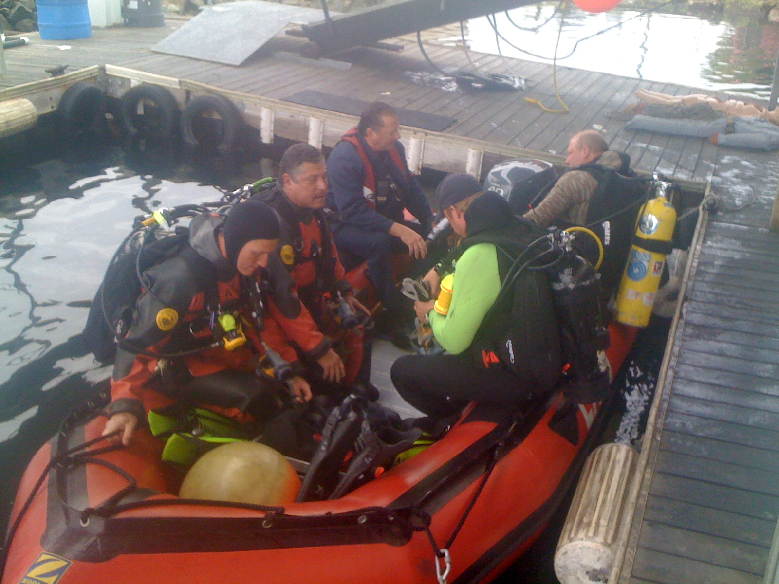 Search and Rescue Dive Teams