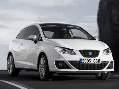 2010 SEAT Ibiza FR TDI SC - Side Top