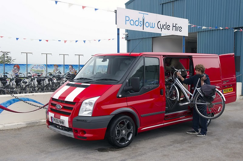 2010 Ford Transit SportVan Red - Front View