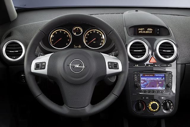 New auto cars 2011 opel corsa for Opel corsa 2010 interior
