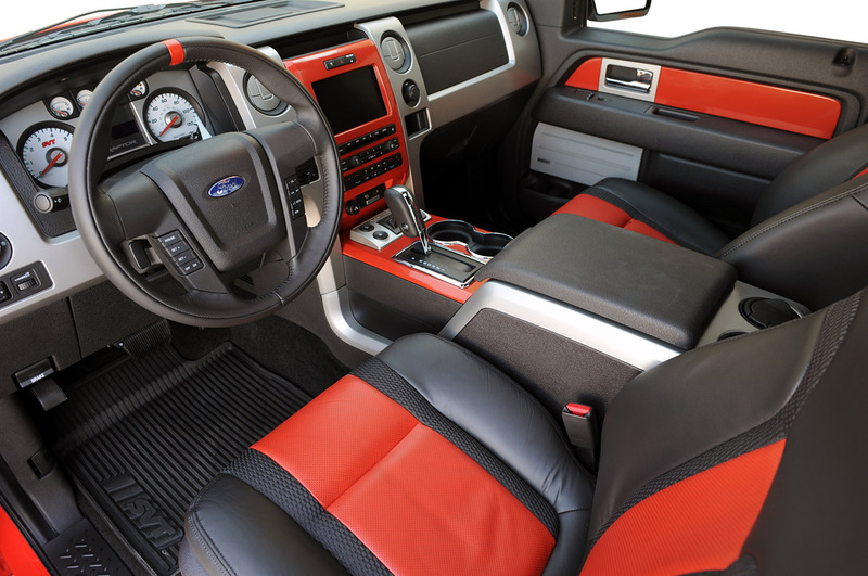 Ford F 150 Raptor Interior. 2010 Ford F-150 SVT Raptor 6.2