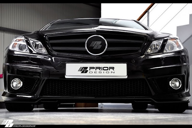 2011 Prior Mercedes Benz E Class Coupe Black Desire