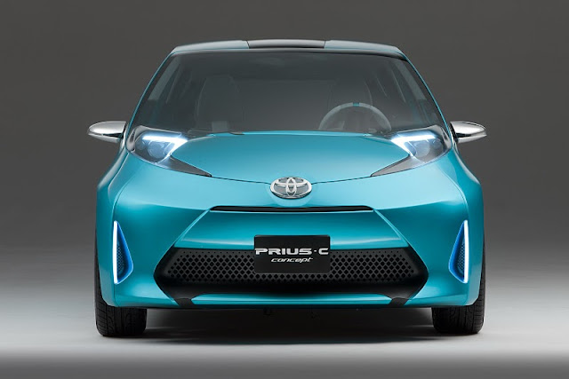 2011 toyota prius c concept front view 2011 Toyota Prius C