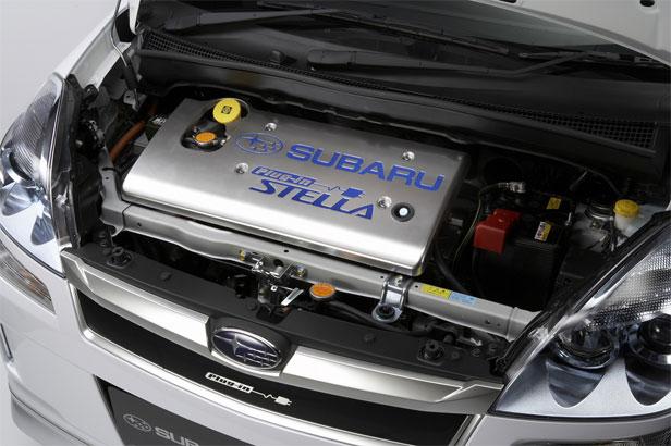 2011 subaru stella ev engine view 2011 Subaru Stella EV