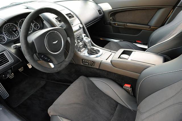 2011 aston martin v12 vantage cockpit view 2011 Aston Martin V12 Vantage