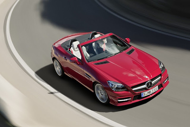 2012 Mercedes Benz SLK Roadster