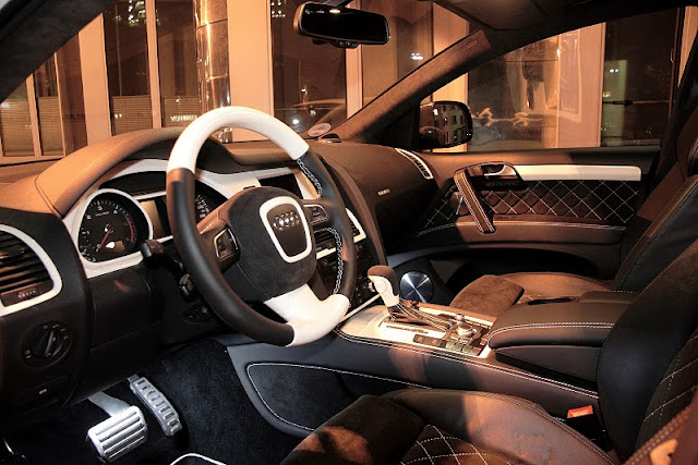 2011 anderson germany audi q7 suv interior view 2011 Anderson Germany Audi Q7 SUV