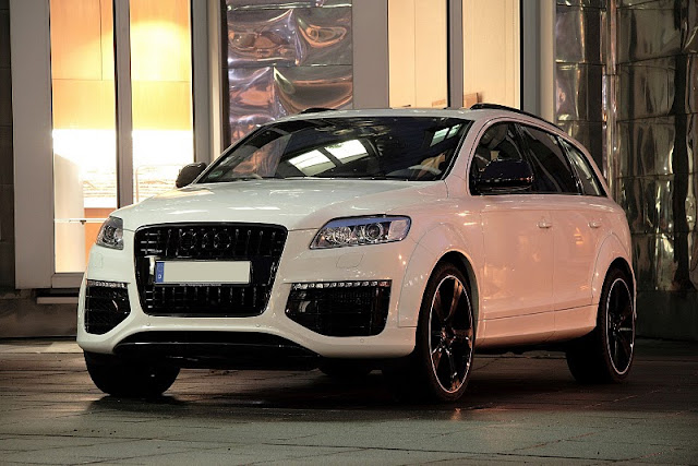 2011 anderson germany audi q7 suv front angle view 2011 Anderson Germany Audi Q7 SUV