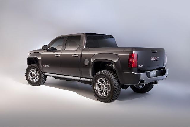 2011 gmc sierra all terrain hd concept rear side view 2011 GMC Sierra All Terrain HD
