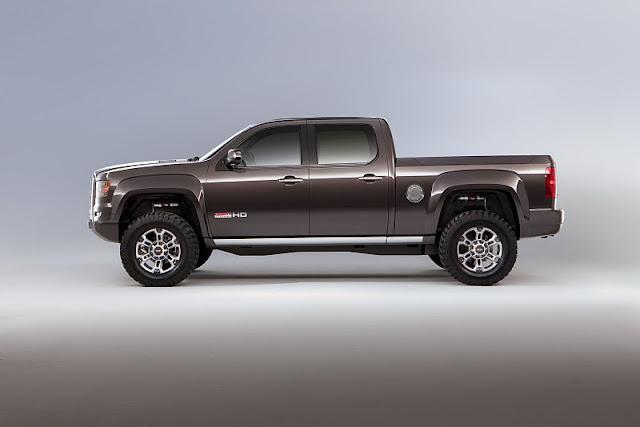 2011 gmc sierra all terrain hd concept side view 2011 GMC Sierra All Terrain HD
