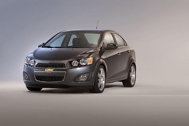 2012 chevrolet sonic sedan front angle view 2012 Chevrolet Sonic Sedan