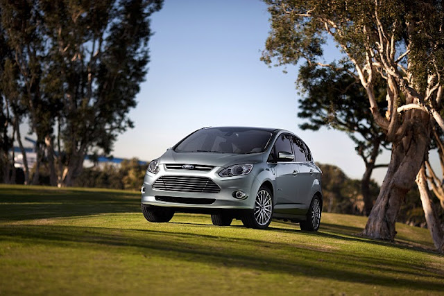 2013 ford c max energi front angle view 2013 Ford C MAX Energi