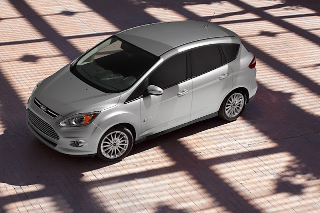 2013 ford c max hybrid front side top view 2013 Ford C MAX Hybrid