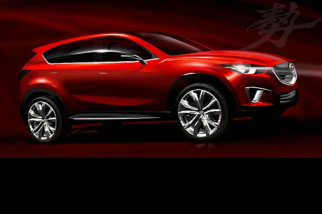 2011 mazda minagi concept front side view 2011 Mazda Minagi