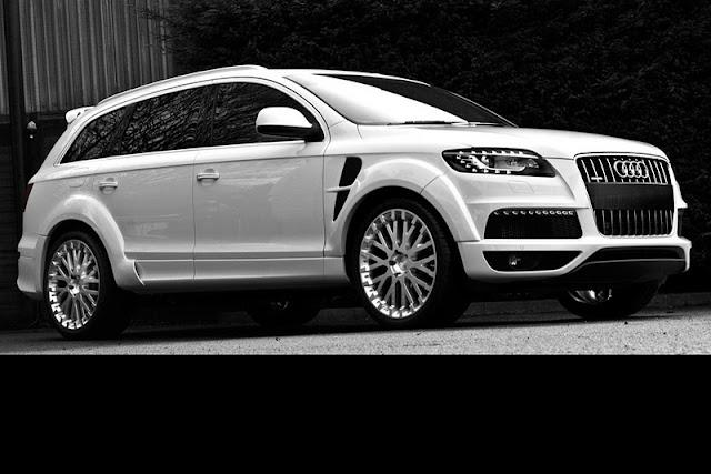 2011 project kahn audi q7 front angle view 2011 Project Kahn Audi Q7