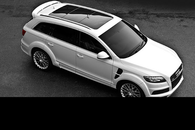 2011 project kahn audi q7 front side top view 2011 Project Kahn Audi Q7