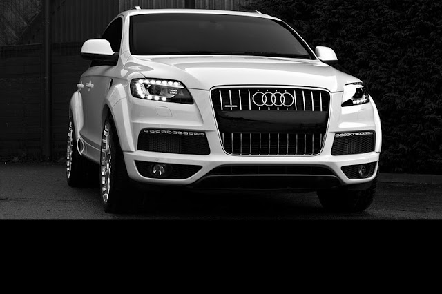 2011 project kahn audi q7 front side view 2011 Project Kahn Audi Q7