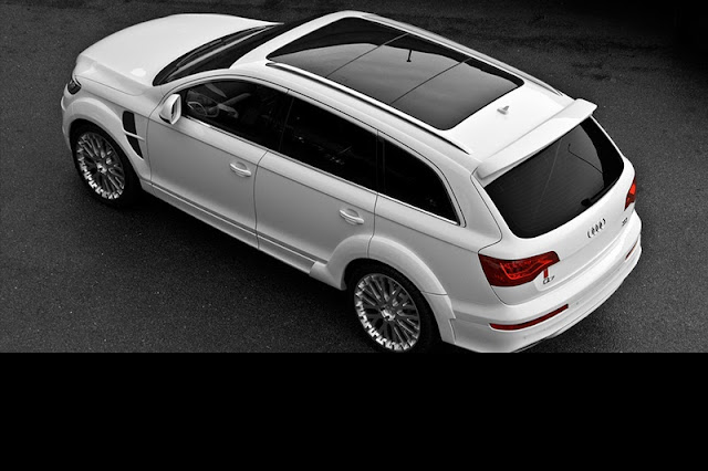 2011 project kahn audi q7 rear side top view 2011 Project Kahn Audi Q7