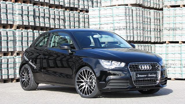 2011 senner audi a1 front side view 2011 Senner Audi A1