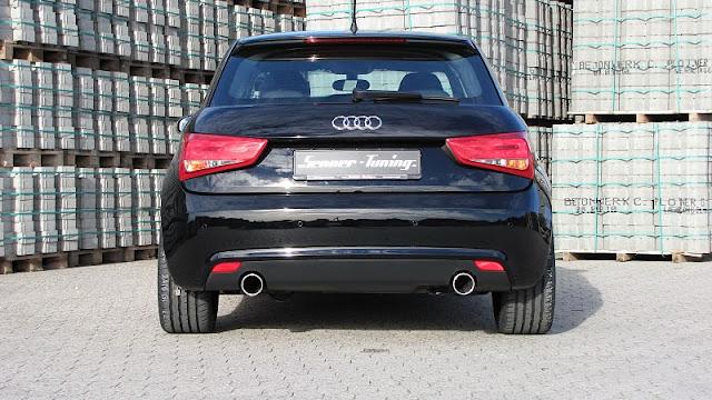2011 senner audi a1 rear view 2011 Senner Audi A1