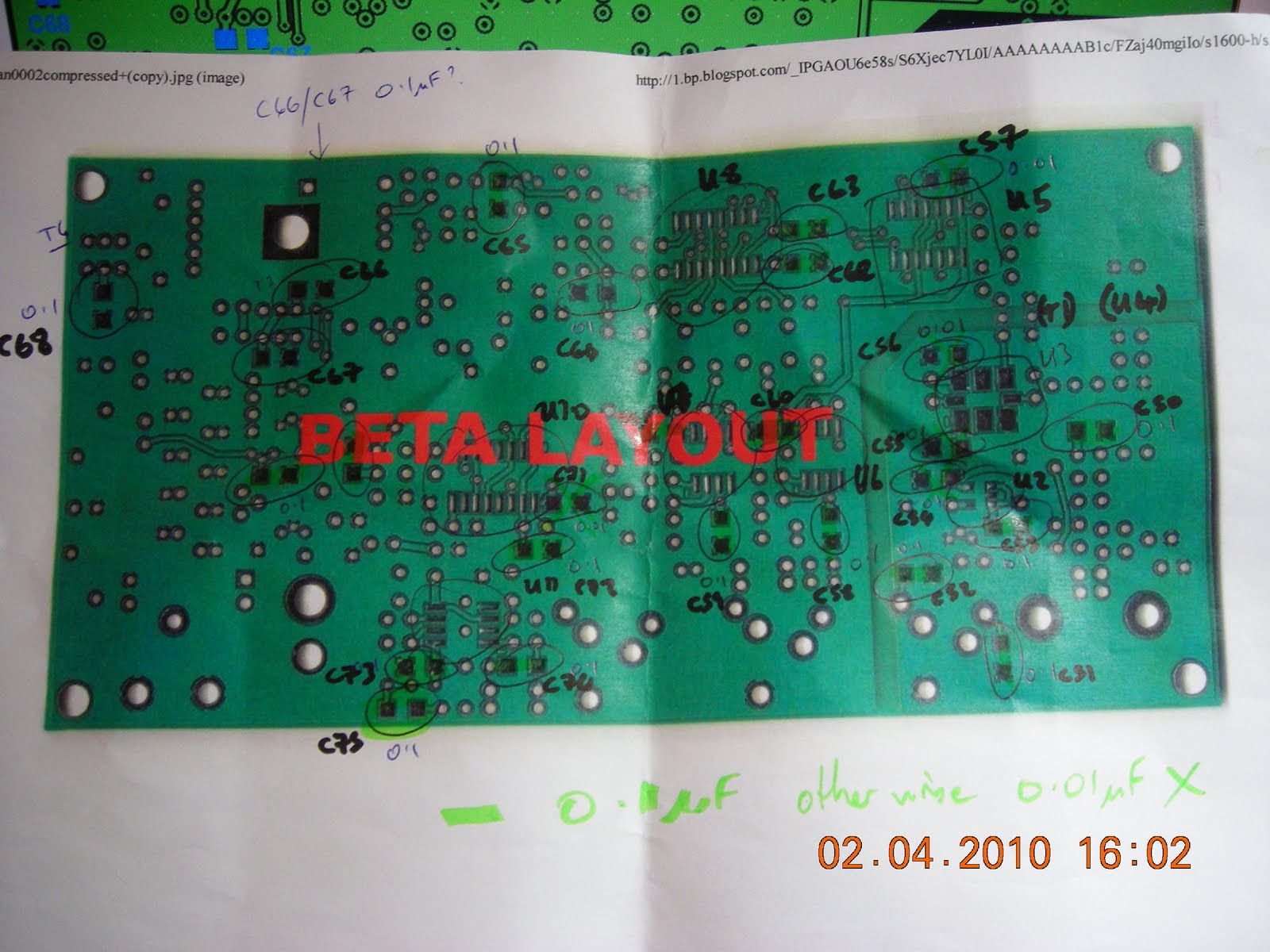 April 2012 Rf Circuits Fm Transmitter Circuit Schematic And Board Bbg 1 2 Watt Vhf First Thing Build The Power Supplies