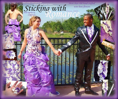 duct tape prom. duct tape prom. 2009 Duct Tape Prom Dress; 2009 Duct Tape Prom Dress