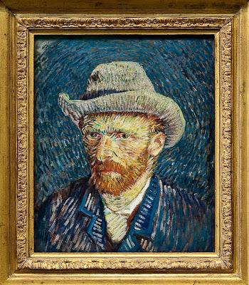 Autorretrato con sombrero de fieltro gris. Rijkmuseum Van Gogh 9a52cade364