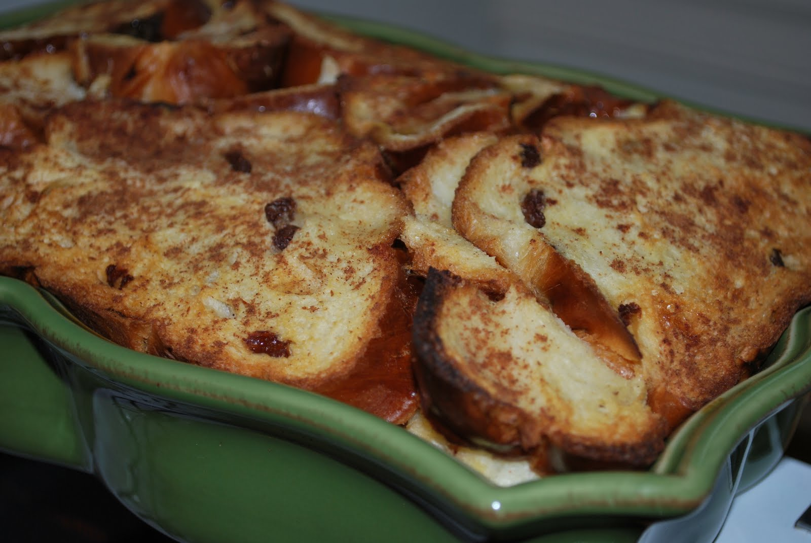... of the Kitchen: Enjoying Breakfast and Family: Baked French Toast