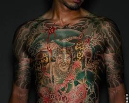 Gambar Tattoo Yakuza