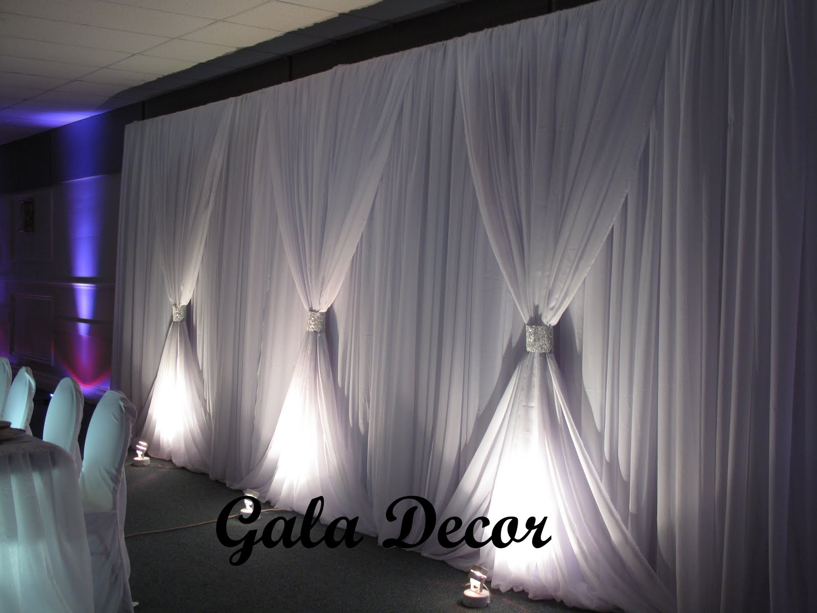 Backdrop Decorations