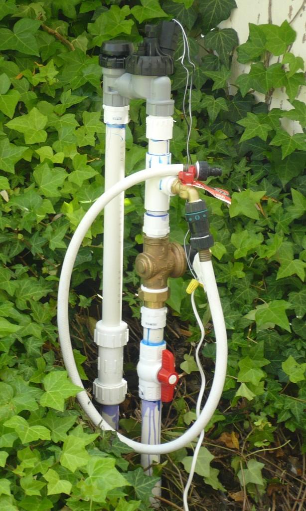 The green engineer high pressure sprinkler valve