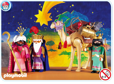Madhouse family reviews playmobil advent calendars for Amazon figuras belen