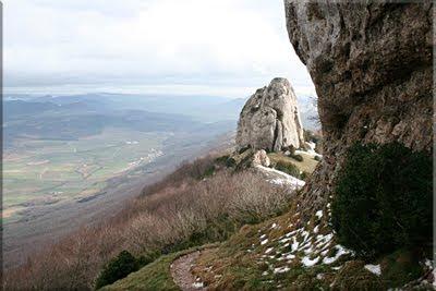 Bonete de San Tirso desde la Cueva/Ermita