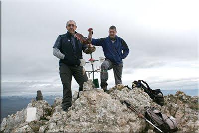 San Tirso mendiaren gailurra 1.329 m.  -  2010eko urtarrilaren 16an
