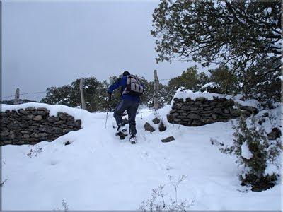 Paso del murete y la alambrada