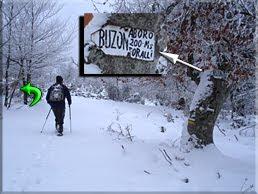 Desvío '' Arboro 200 m. por allí''