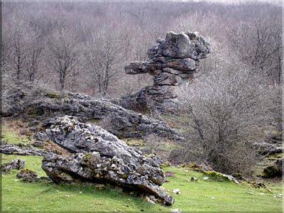 Curiosa formación rocosa