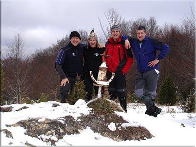 Belabia mendiaren gailurra 970 m.  -  2010eko martxoaren 13an